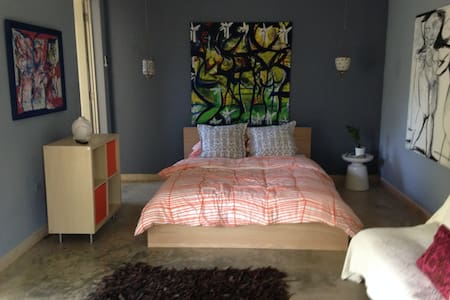 Jobos Beach art & surf studio - isabela - Apartament