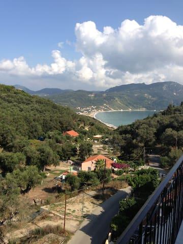Corfu Greece, Sea from Your Balcony - Afionas - Willa