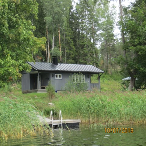 Cottage with sauna