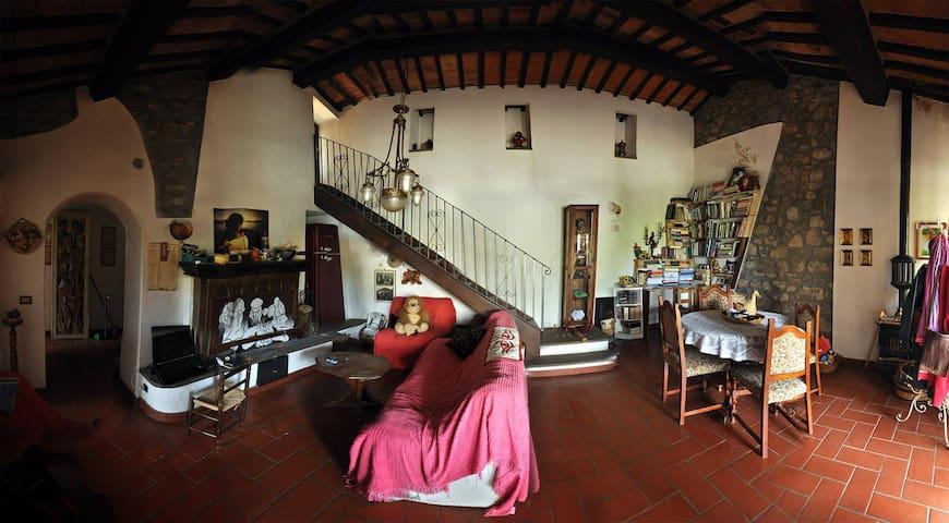 Casa a Scansano, terra di terme e Morellino