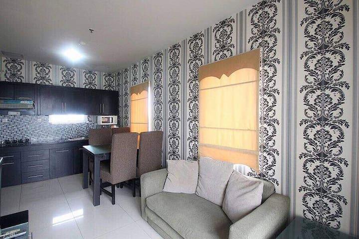 2 BD, Corner (private), central jkt
