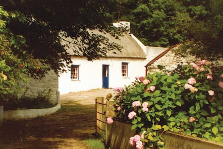 Graham's Irish Thatched Cottage. - Kerrykeel, Letterkenny - Mökki
