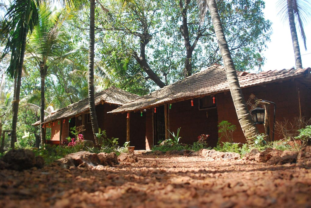 Mud Cottages. 1 & 2