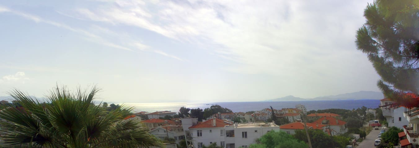 2 Bedroom Flat with Stunning Sea View - Datça - Apartment