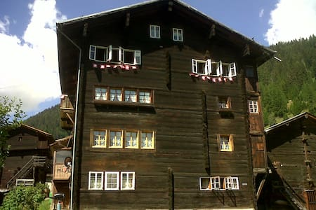 Swiss Chalet on slopes up to 10pax! - Reckingen-Gluringen - スイス式シャレー