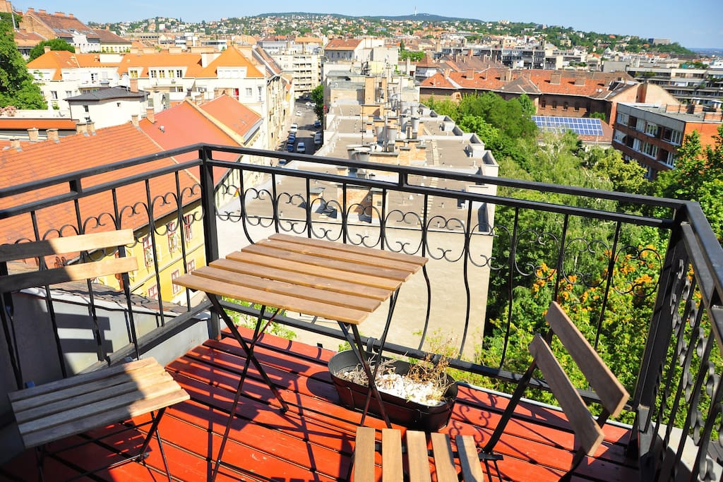 Terrace and view