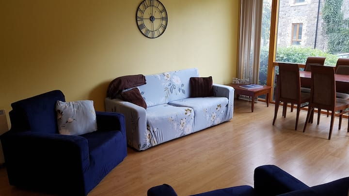 One-bed apartment walking distance to Dublin city