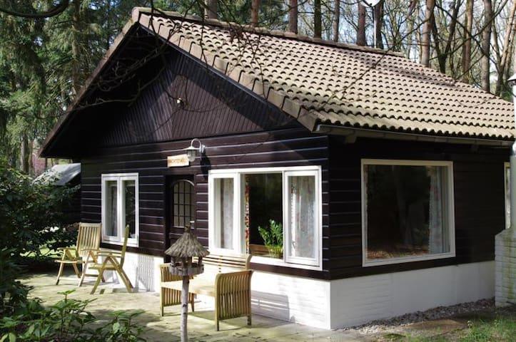 't kleine huisje op de Veluwe - Otterlo - กระท่อมบนภูเขา