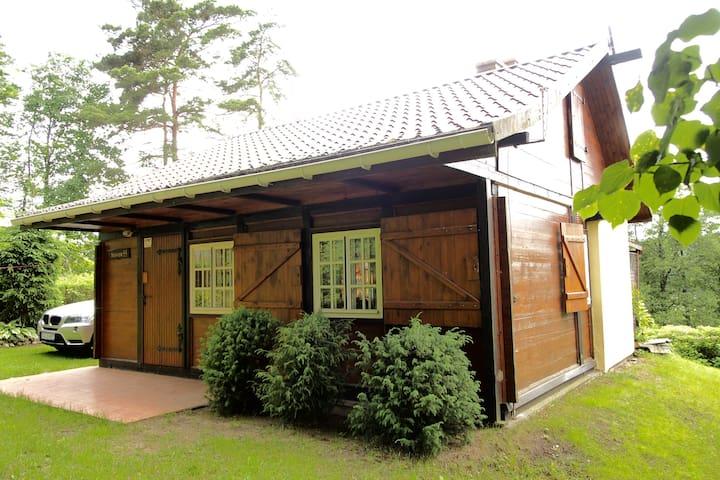 Drewniany domek pomiędzy dwoma jeziorami - Strzeszyn - Timeshare (propriedade compartilhada)