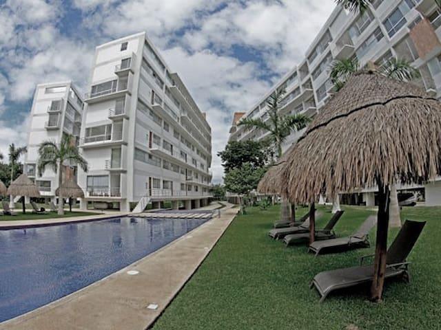 great view room in  6 floor condo - Cancún - Apartemen