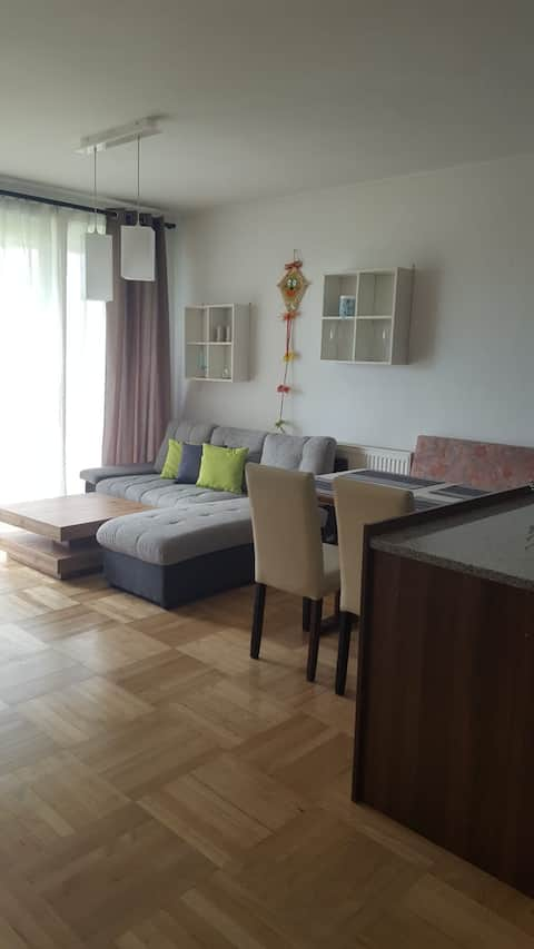Apartment 68m2 mit Balkon