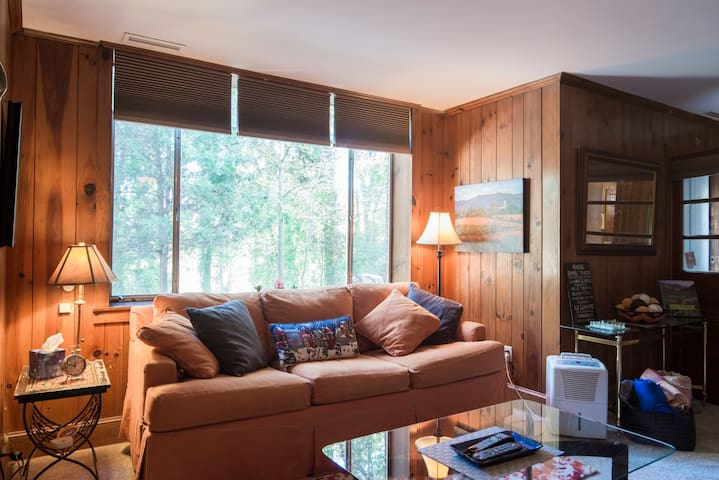 Big, cozy, private space on 2 acre lot