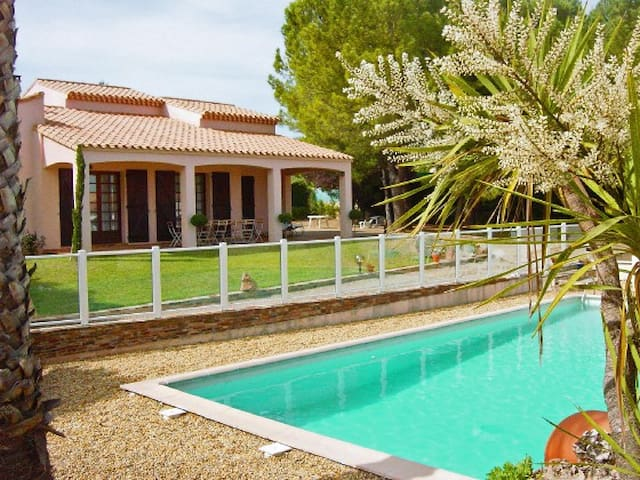 House+pool in fab French village - Saint-Geniès-de-Fontedit - House