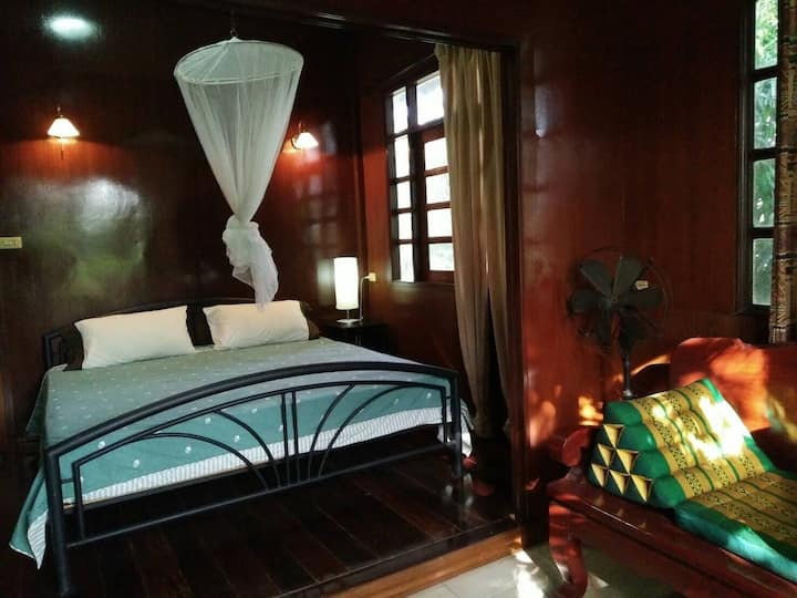 Ayutthaya house comfy king size bed