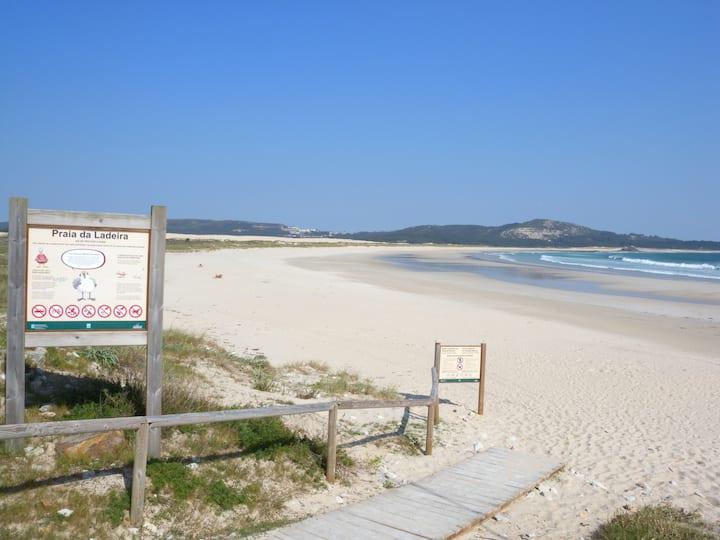 Galicia - Corrubedo front beach