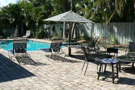 Private Master w/bath (and pool) - Fort Lauderdale - Haus