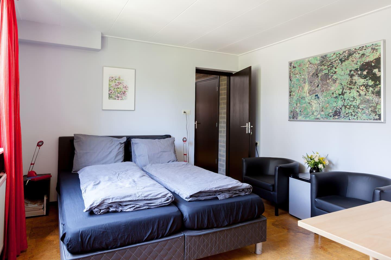 Gastenkamer met kwaliteitsbedden