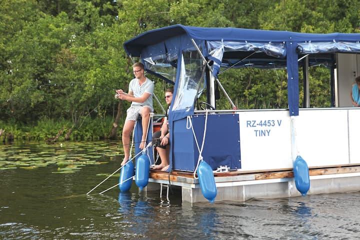 Barrierefreies Hausboot Febomobil 720 Open