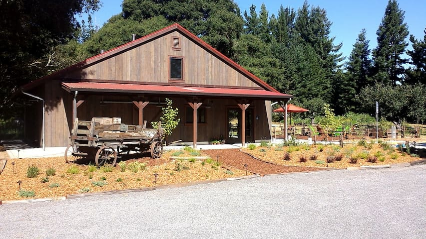 Barn studio above tasting room on two acres. - Sebastopol - Apartmán pro hosty