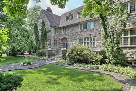 13,000 SF Historic Brasenhill Mansion (Sleeps 25+)