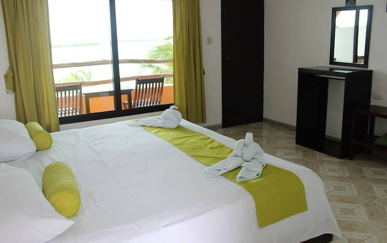 habitacion con 1 cama King size