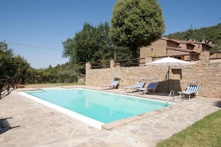 Private villa with garden pool and incredible view - Torreone