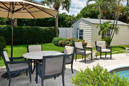 Charming Delray Beach Cottage - Delray Beach