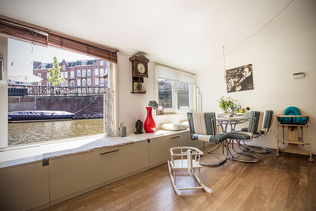 An Amsterdam waterview