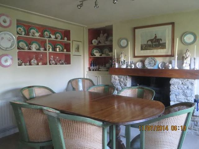 Alternatively, you might prefer your breakfast in the cosy  dining room.