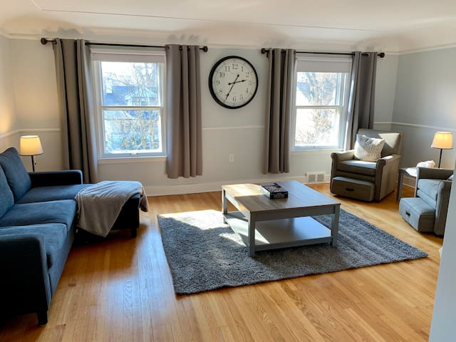 Updated charming 2ND unit city place with BIG yard