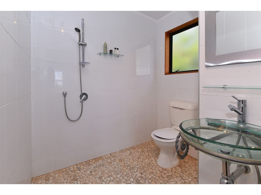 Freshen up in your own private ensuite