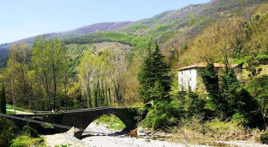The House across the Bridge in Fivizzano - Fivizzano - House