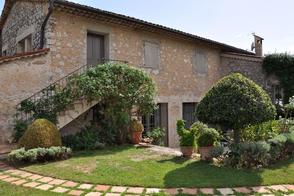 300yr old stone farmhouse.