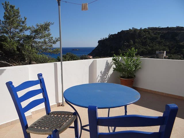 """Studio 2"", with amazing sea view - Agia Fotia - Appartement"