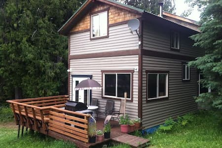 Mountain Cottage above Slocan Lake - Silverton - Hus