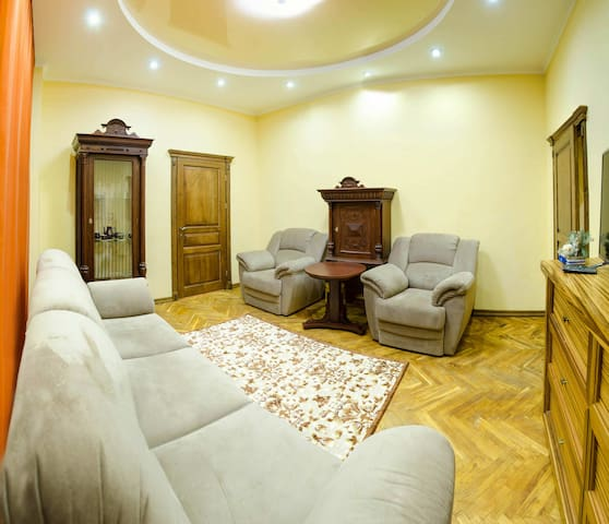 Cozy apartment in the center of Lviv