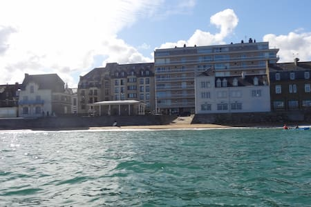 PLAGE DU SILLON, T2, Parking, Wifi - St-Malo