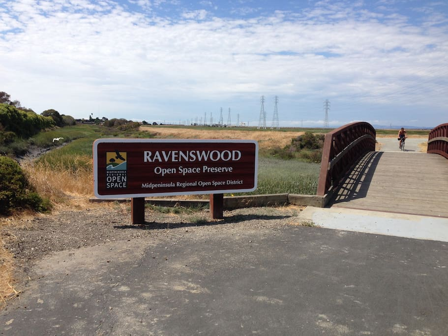 Ravenswood Open Space Preserve ( ~0.5 miles away) 373 acres by the Bay