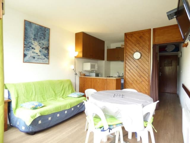 Appartement studio cabine 4 couchages LA PIERRE ST MARTIN