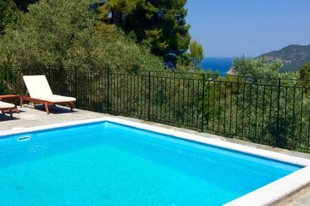 Villa Pinot, sea view, tranquil & private pool - Skopelos - Villa