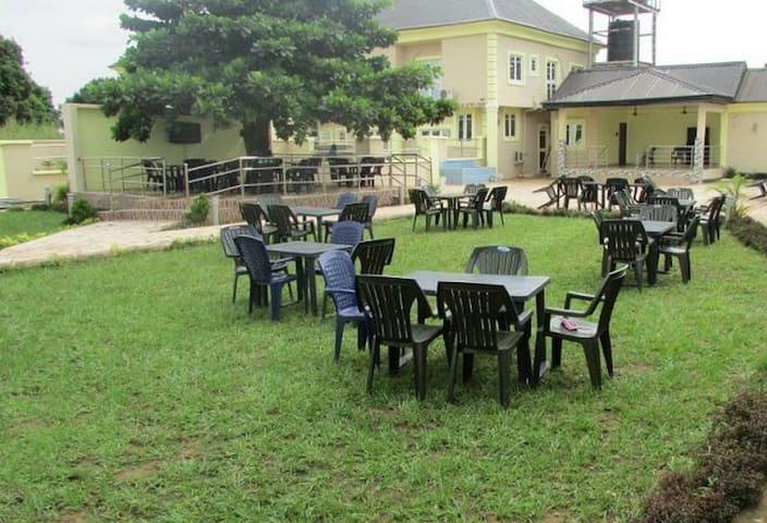 Garden Court Hotel And Resort....Playground for kids, leisure home for adults