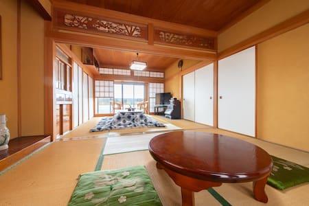 Katsuura/Private beach/Fishing/BBQ/Free Wi-Fi