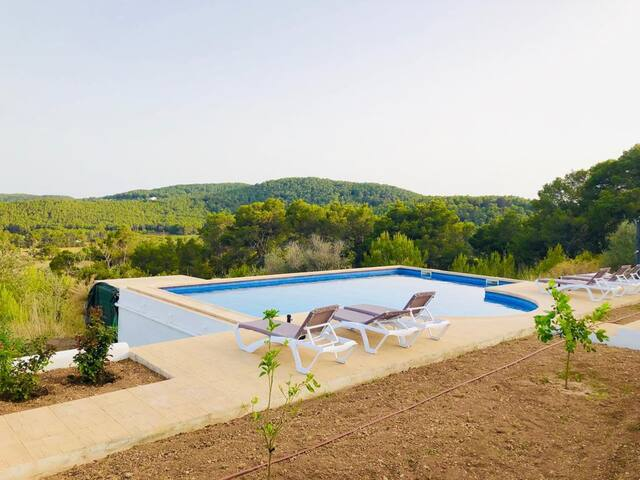 Original Ibicencan Finca surrounded by Nature