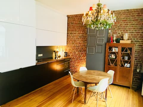 Apart. cosy & design in the very trendy StGilles