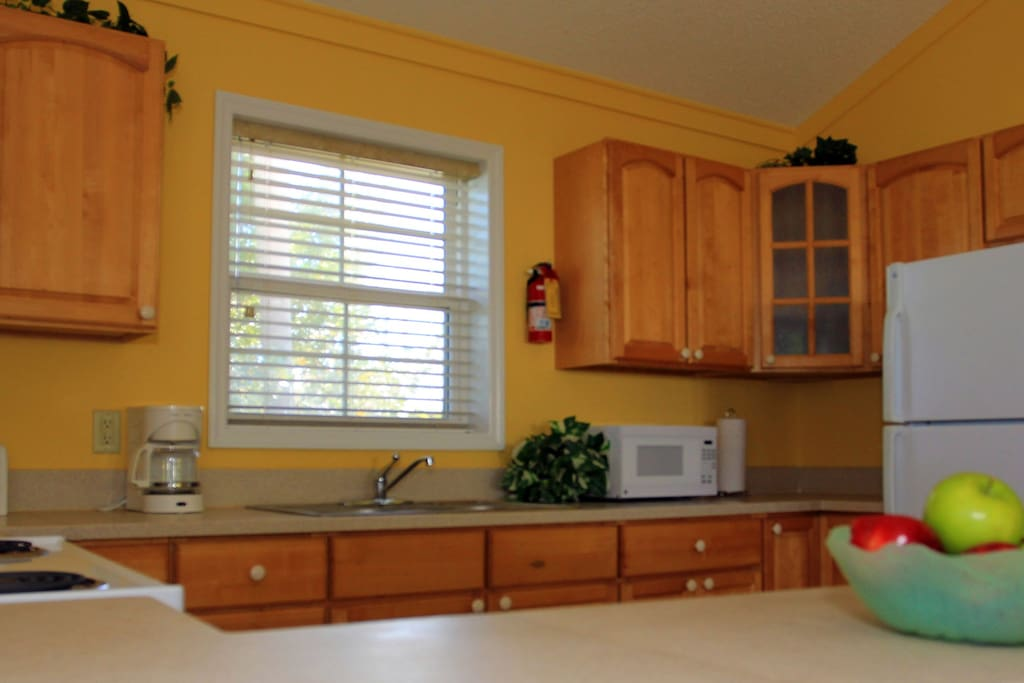 Fully equipped  kitchen for cooking your favorite meals or entertaining family & friends.