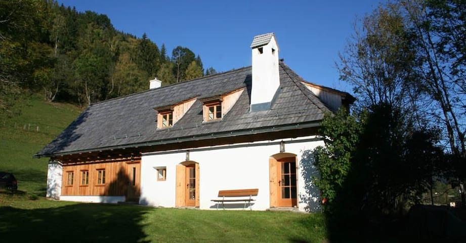 Romantisches Ferienhaus - Arriach