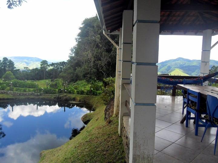 Casa do lago Fazenda Monte Verde
