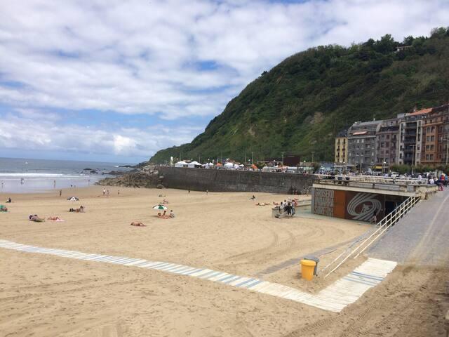 Zurriola Beach