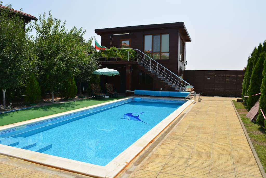 New Guest House For Rent With Swimming Pool Guesthouses For Rent In Gyulyovtsa Burgas Bulgaria