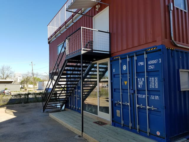 Modern Shipping Container Apt - 2 Units Combined